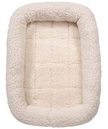 Slumber Pet Sherpa Crate Dog Beds Soft Plush Comfortable Bed for Dogs Ch... - $34.81
