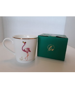 Sarah Miller London Portmeirion PIccadilly Mug Flamboyant Flamingo New I... - $15.99