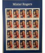 MISTER ROGERS  2017 (USPS) STAMP SHEET 20 FOREVER STAMPS - $14.95
