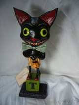 Bethany Lowe Smiley Black Cat no. HH9218 image 1