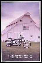 2001 Harley Davidson Brochure, Full Line, 36 pgs Electra Glide Sportster - $6.91