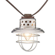 Galvanized Lantern 10-Light Set - $31.67