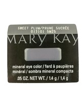 Mary Kay Sweet Plum Mineral Eye Shadow Single Retired - $6.79