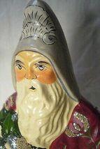 Vaillancourt Folk Art Plum Father Christmas Signed Judi image 3