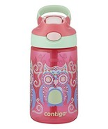 Contigo AUTOSPOUT Straw Gizmo Flip Kids Water Bottle, 14 oz, Sprinkles w... - $15.48