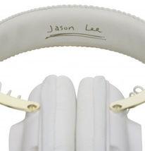 WeSC Premium White Los Angeles Maraca Headphones Jason Lee B405731001 LA NIB image 4
