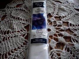 """Charles Craft 14 Count White Aida Fabric 15"""" x 18"""" - $7.00"""