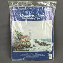 Thomas Kinkade The Painter of Light Needlepoint Kit Beacon of Hope Lighthouse  - $28.98