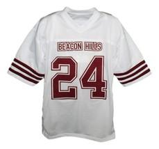 Stilinski #24 Beacon Hills Lacrosse Jersey Teen Wolf TV Serie White Any Size image 4