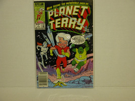 PLANET TERRY #1 80'S KIDS COMIC  - FREE SHIPPING - $9.50