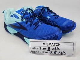 MISMATCH Brooks Cascadia 12 Size 8 M (B) Left & 7.5 M (B) Right Women's Shoes