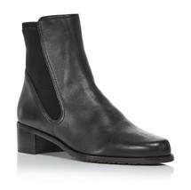 Stuart Weitzman Women's Lynelle Bootie 7  Black Leather $393 - $271.15