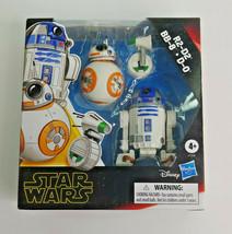 NIB Hasbro Star Wars: Galaxy of Adventures - R2-D2, BB-8, D-O 3-Pack Toy Droid. - $18.69