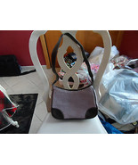 Liz Claiborne light purple and brown handbag - $12.00