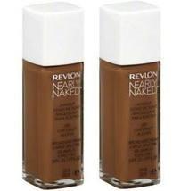 (2-PACK) Revlon Nearly Naked Makeup, SPF 20, Nutmeg 230 - 1 fl oz bottle - $34.99