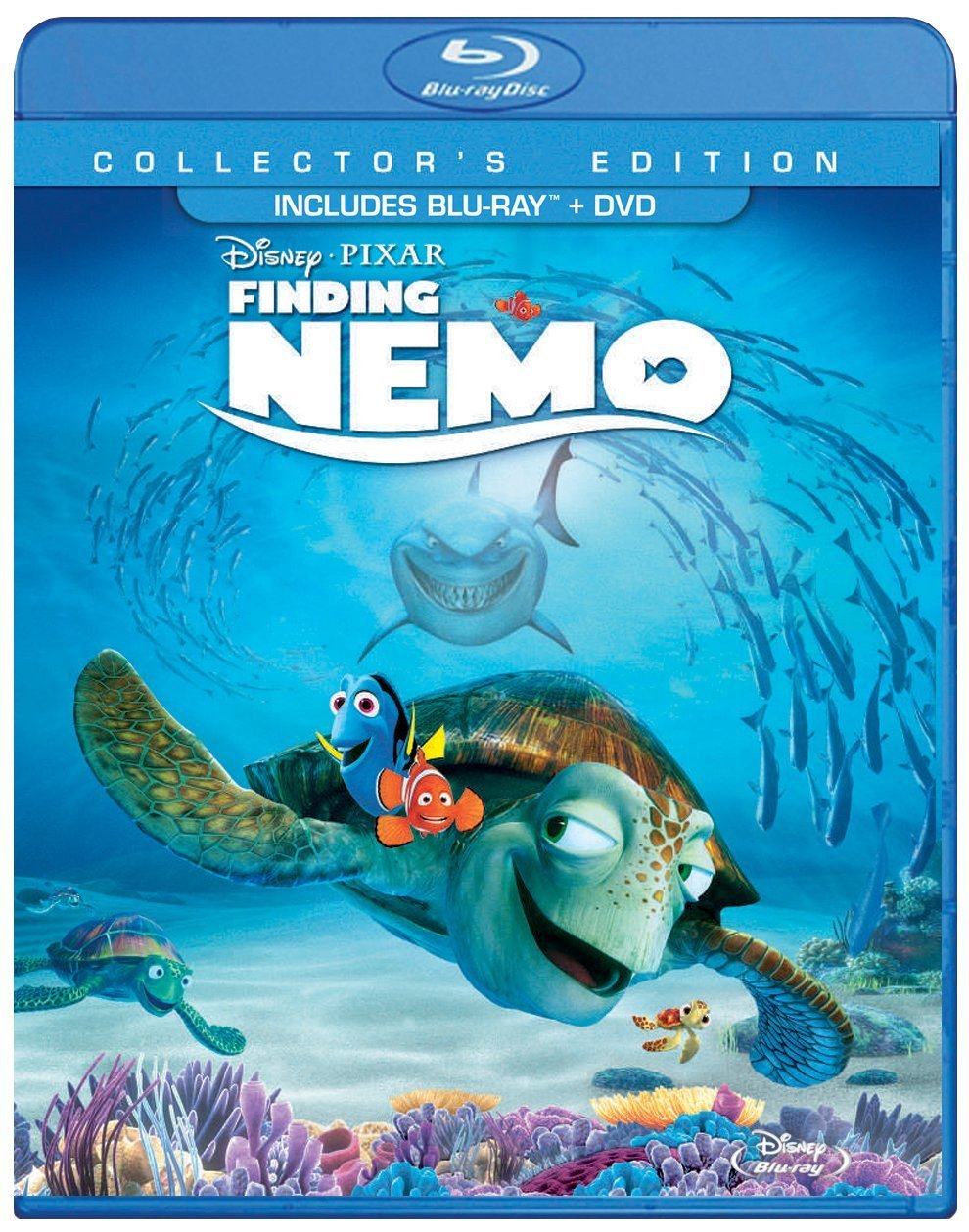 Disney/Pixar Finding Nemo (Three-Disc Collector's Edition: Blu-ray/DVD)