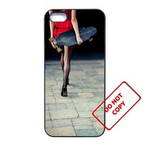 Skateboard GirlLG G3 case Customized Premium plastic phone case, - $11.87
