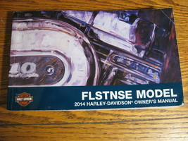 2014 Harley-Davidson FLSTNSE Owner's Owners Manual CVO Softail Deluxe - $68.31