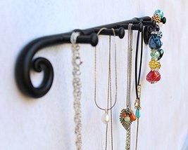 Blacksmith Handmade Wrought Iron 5 Hooks Key Holder Organizer, Key Hook, Key Han image 3