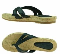 Timberland Women's Earthkeepers Spaulding BLACK Thong Sandals Flip Flops... - $26.09