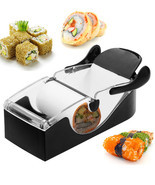 Set Sushi Roll Magic Making Machine Kitchen Gadget Maker DIY Mold Perfec... - £14.88 GBP