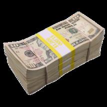 $3,000 - $10 Full Print Aged Fake Bills Bundle Poker Game Prank Music Video  - $24.99