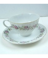 Regency Rose 2345 by Creative Fine China Cup and Saucer  Japan - $6.74