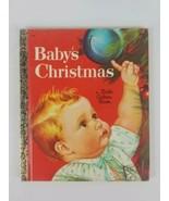 A Little Golden Book Babys Christmas 1969 Golden PressWalt Disney Book - $6.79