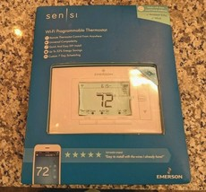 Emerson Sensi Wi-Fi Programmable Thermostat UP500W for Smart Home OPEN BOX - $79.19