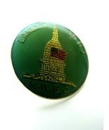 Vintage MWBA Bowling Pin Lansing Michigan Capital Lapel Hat Pinback 1987 - $7.87