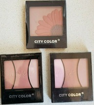 BUY 2 GET 1 FREE (Add 3 To Cart) City Color Blush/ Blush Bronzer Palette - $5.60+