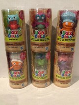 Ugly Dolls Lucky Bat, Cool Dude Ox, Savy Wage Chef, Etc, Set of 6 - $19.79