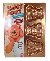 Wilton Irridescents Mini Teddy Bear Treats Cake Pan (2105-4948) - $24.50