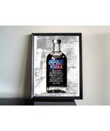 Absolut Vodka Andy Warhol Edition Pop Art Urban Decor Gastro Drink Cocktail - $88.11