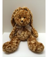 Plush Bunny Rabbit Ultra Soft Salesman Sample Brown Stuffed Animal 19 in... - $24.74