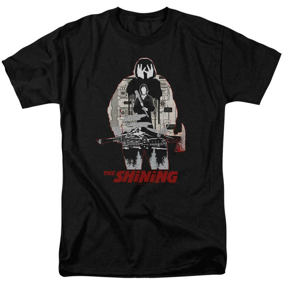 The Shining t-shirt Stephen King retro 80's horror graphic cotton tee WBM559