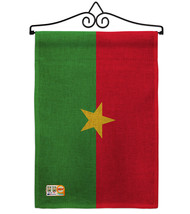 Burkina Faso Burlap - Impressions Decorative Metal Wall Hanger Garden Fl... - $33.97