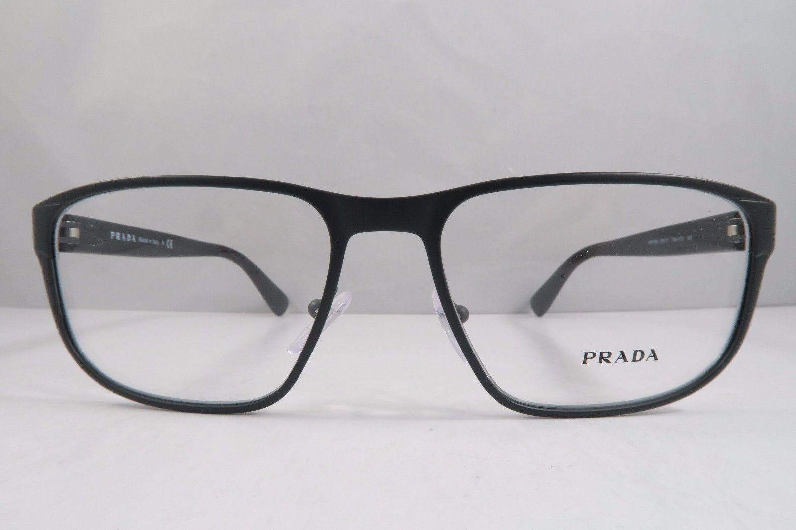 7ca634abcadc Prada VPR 56S TKM-1O1 Matte Grey   Black and 28 similar items. 57