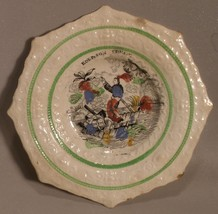 Staffordshire Robinson Crusoe Decorative Plate - $20.00