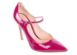 Gianvito Rossi Pink Patent Leather Classic Pointed Toe Pumps IT37/US7 - $261.25
