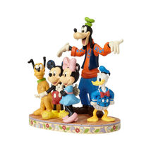 """10.83"""" """"The Gang's All Herel """" Goofy, Pluto, Donald Duck, Mickey & Minnie Mouse image 4"""