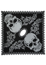 """Heritage Lace Pewter Hawthorne Garden 58""""x58"""" Halloween Poncho One Size ... - $31.99"""