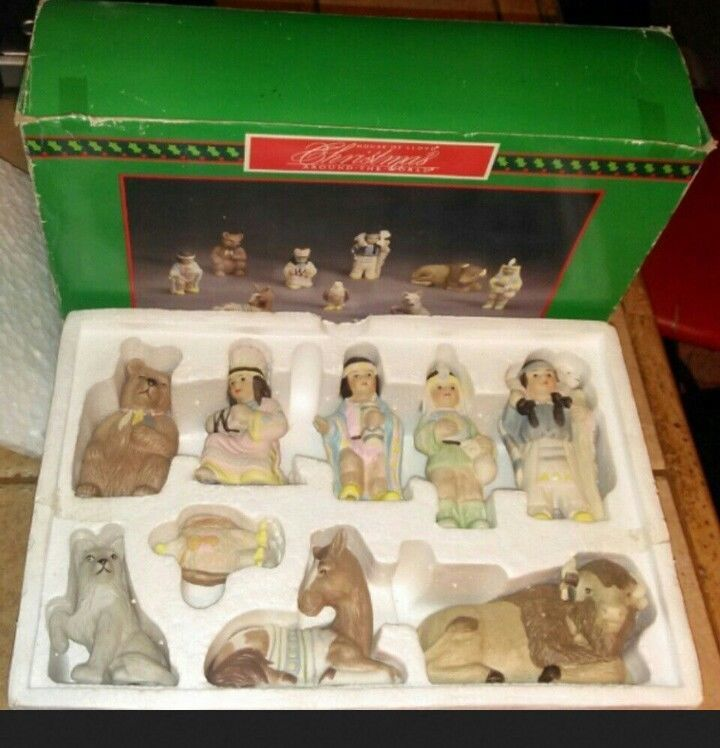 Primary image for House of Lloyd Christmas Around The World Nativity Additions New 1993