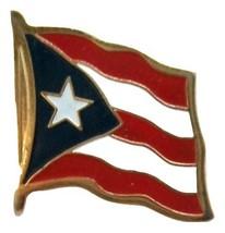 Puerto Rico Flag Hat Tac or Lapel Pin - $6.84