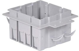 NEW Inexco ICF-2-RL 2-Gang Box For Insulated Concrete Forms 36 Cubic Inc... - $11.87