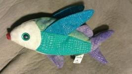 TY Beanie Baby PROPELLER FLYING FISH OCEAN  PLUSH STUFFED ANIMAL Retired... - $4.94