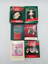 Hallmark Keepsake & Enesco Ornament Lot - Mouse, Ice Skater, Carolers & ... - $9.85