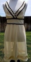 Victorias Secret Angels Sz XS Sheer Nightie Greek Goddess Gown Negligee ... - $17.80
