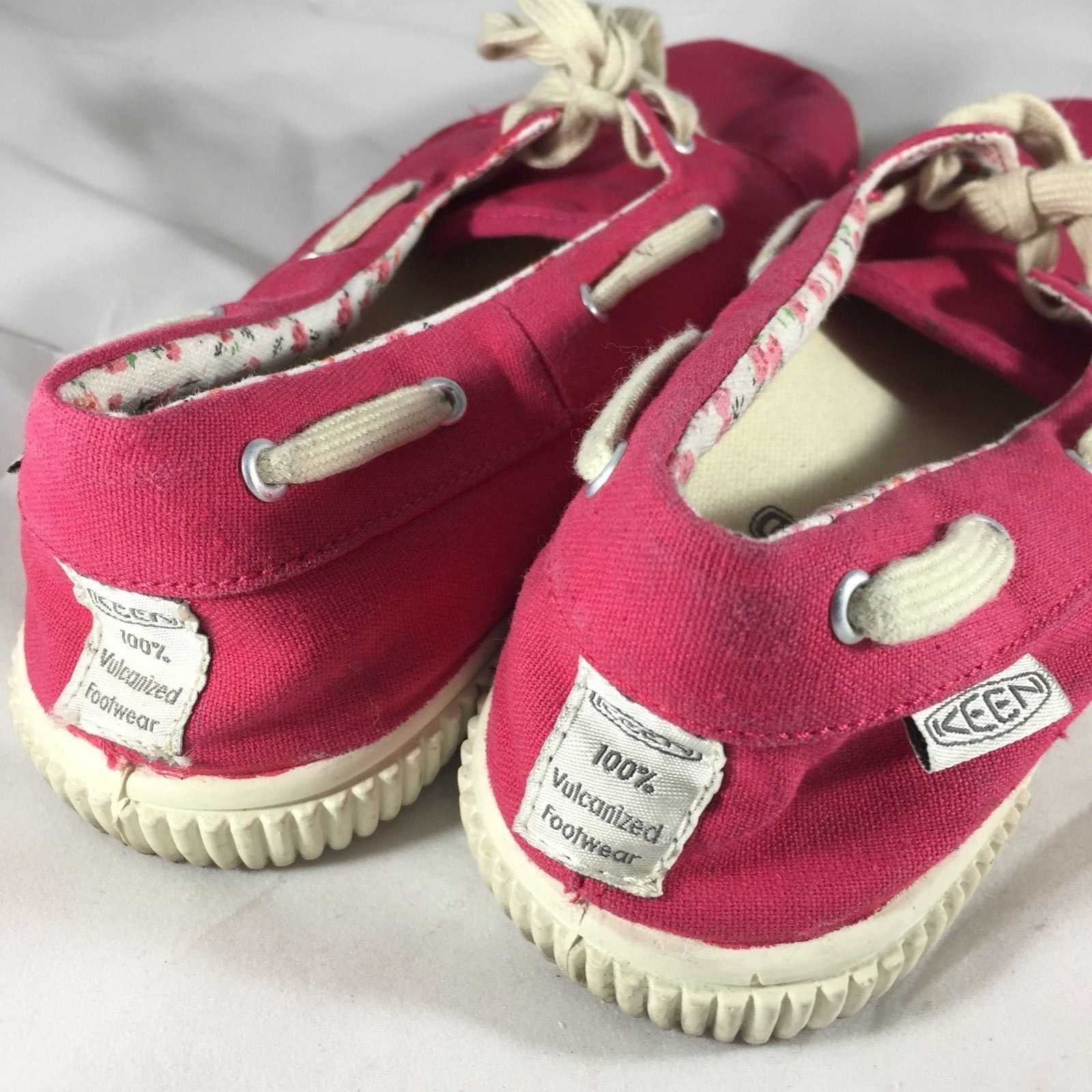 KEEN Low Lace Canvas Pink Size 8 5 Vegan and 50 similar items