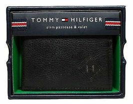 Tommy Hilfiger Men's Premium Leather Credit Card Wallet Slim Black 4707-01 image 7